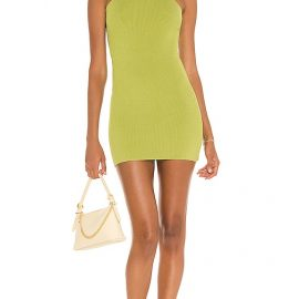 GAUGE81 Avila Mini Dress in Green. Size S, M, L.