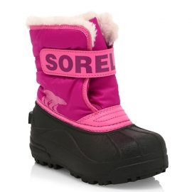 GIrl's Snow Commander Waterproof Faux Shearling-Lined Boots