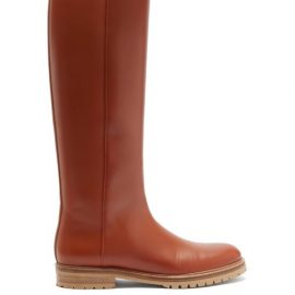 Gabriela Hearst - Howard Knee-high Leather Boots - Womens - Tan