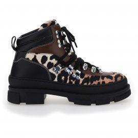 Ganni Hiking Mix Boots