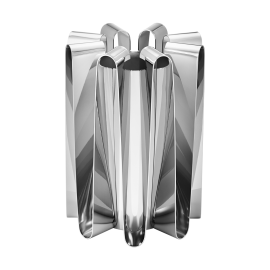 Georg Jensen Frequency Stainless Steel Large Vase