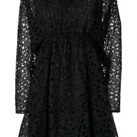 Giamba babydoll dress - Black