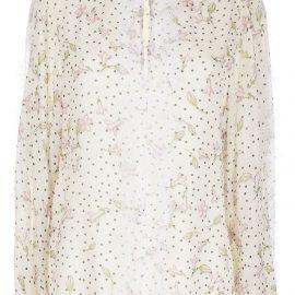 Giambattista Valli floral print blouse - Yellow