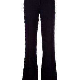 Giambattista Valli studded bootcut jeans - BLACK