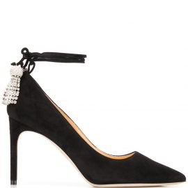 Giannico Giselle pointed pumps - Black