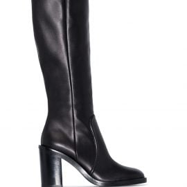 Gianvito Rossi 85mm knee-high boots - Black