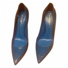 Gianvito Rossi Gianvito Rossi blue court shoes