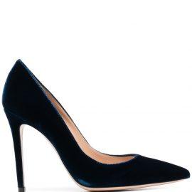 Gianvito Rossi Gianvito pointed toe pumps - Blue