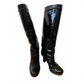 Gianvito Rossi Leather wellington boots