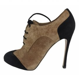 Gianvito Rossi N Beige Suede Ankle boots for Women