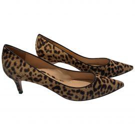 Gianvito Rossi N Fur Heels for Women