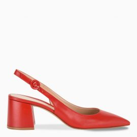 Gianvito Rossi Red slingback pumps