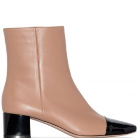 Gianvito Rossi Vernice ankle boots - Neutrals