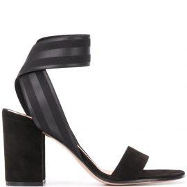 Gianvito Rossi chunky mid-heel sandals - Black