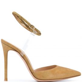 Gianvito Rossi pointed heel pumps - GOLD