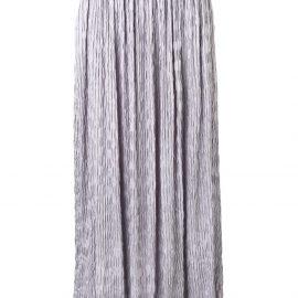 Giorgio Armani crinkle maxi skirt - Purple