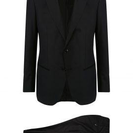 Giorgio Armani formal two-piece suit - Black