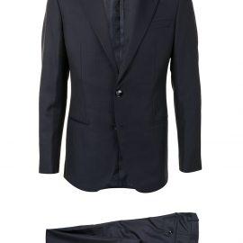 Giorgio Armani pinstripe three-piece suit - Blue