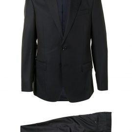 Giorgio Armani single-breasted suit - Black