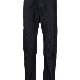 Giorgio Armani straight-leg cotton jeans - UBUL BLU DENIM SCURO