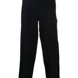 Giorgio Armani tapered trousers - Blue