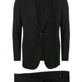 Giorgio Armani two piece dinner suit - Black