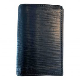 Girard Perregaux black Leather Purses, Wallets & Cases