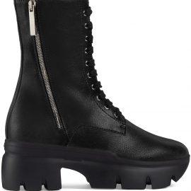 Giuseppe Zanotti Apocalypse platform combat boots - Black