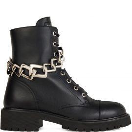 Giuseppe Zanotti Detroit biker boots - Black