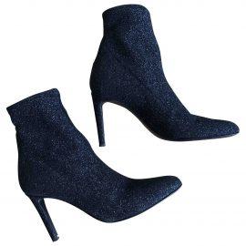 Giuseppe Zanotti N Black Cloth Ankle boots for Women