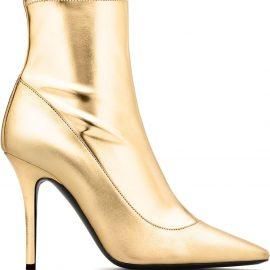 Giuseppe Zanotti Salomè ankle boots - Gold