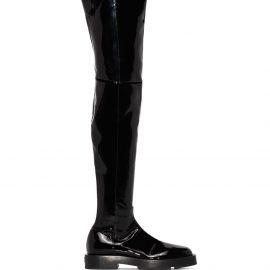 Givenchy 4G thigh-high boots - Black