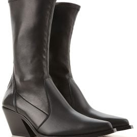 Givenchy Boots for Women, Booties On Sale in Outlet, Black, Leather, 2021, 4.5 5.5 7.5