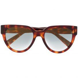 Givenchy Eyewear tortoiseshell cat eye sunglasses - Brown