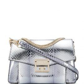 Givenchy GV3 metallic tote bag - SILVER