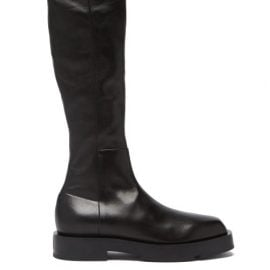 Givenchy - Leather Knee-high Boots - Womens - Black