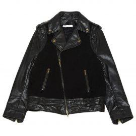 Givenchy Leather short vest