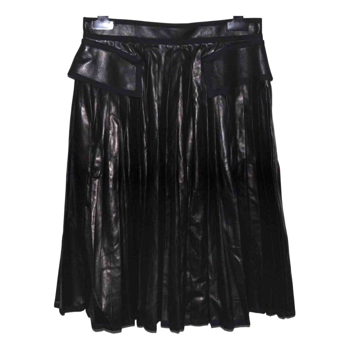 Givenchy N Black Leather Skirt for Women