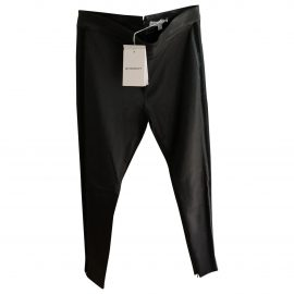 Givenchy N Black Leather Trousers for Women