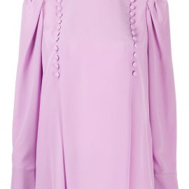 Givenchy buttoned detail blouse - PURPLE