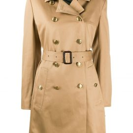 Givenchy double-breasted trench coat - Brown