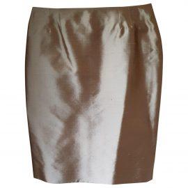 Givenchy gold Silk Skirts