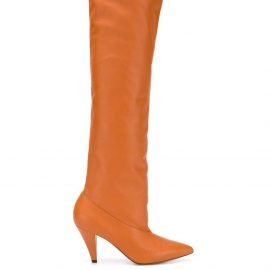 Givenchy over-the-knee boots - Neutrals