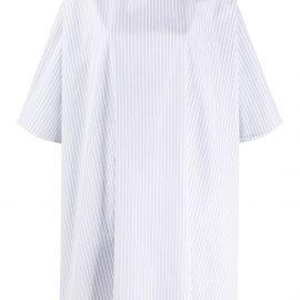 Givenchy oversized striped shirt - White