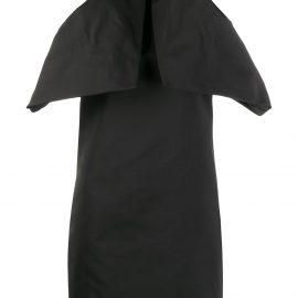 Givenchy ruffled mini dress - Black