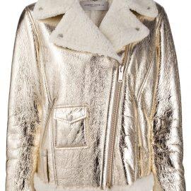 Golden Goose Assia leather biker jacket