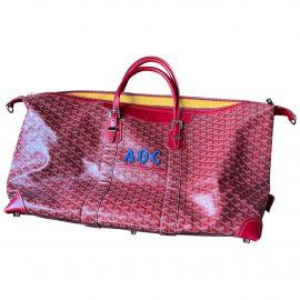Goyard Croisière patent leather travel bag
