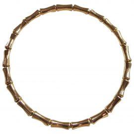 Gucci Bamboo yellow gold bracelet