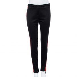 Gucci Black Jersey Logo Band Detail Technical Leggings M