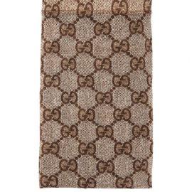 Gucci - GG-jacquard Tights - Womens - Beige Print